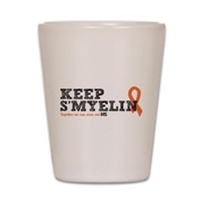 MS/Multiple Sclerosis Shot Glass