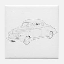 Ford Deluxe 1940 Tile Coaster