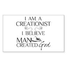 I Am A Creationist Decal
