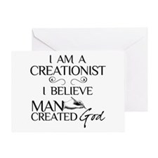 I Am A Creationist Greeting Card