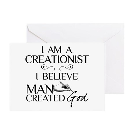 I Am A Creationist Greeting Card