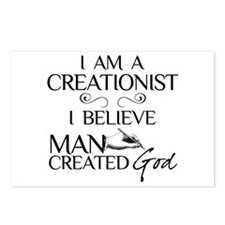 I Am A Creationist Postcards (Package of 8)