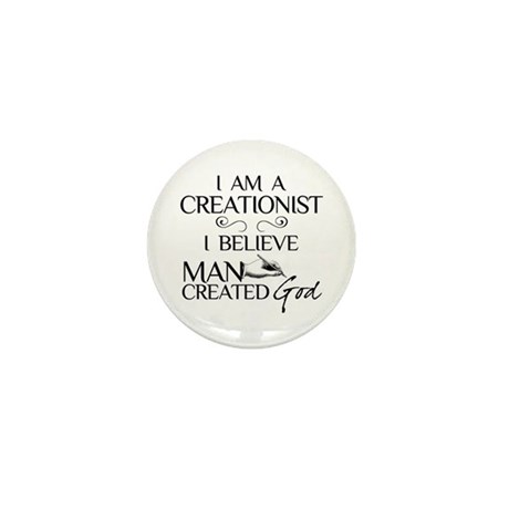 I Am A Creationist Mini Button (100 pack)