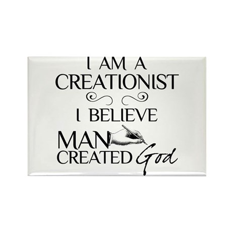 I Am A Creationist Rectangle Magnet (10 pack)