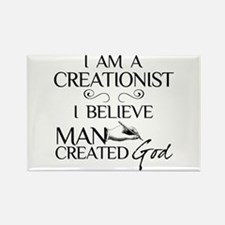 I Am A Creationist Rectangle Magnet