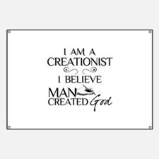 I Am A Creationist Banner