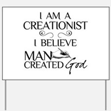 I Am A Creationist Yard Sign