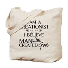 I Am A Creationist Tote Bag