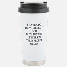 psych patients Stainless Steel Travel Mug