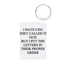psych patients Keychains
