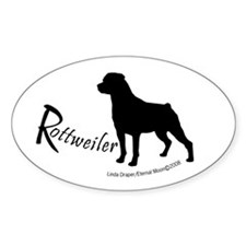 Rottweiler (Shadow) Decal