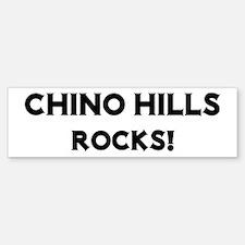 Chino Hills Rocks! Bumper Bumper Bumper Sticker