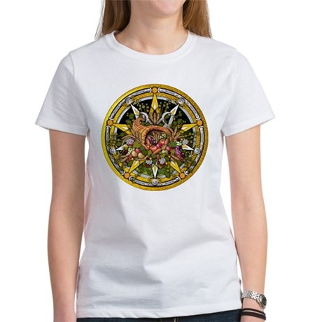 Mabon Pentacle Women's T-Shirt