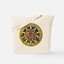 Mabon Pentacle Tote Bag