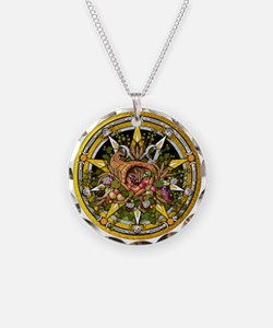 Mabon Pentacle Necklace