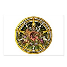 Mabon Pentacle Postcards (Package of 8)