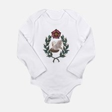 Unique Society creative anachronism Long Sleeve Infant Bodysuit