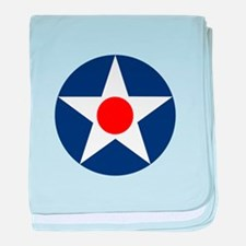 United States Army Air Corp baby blanket