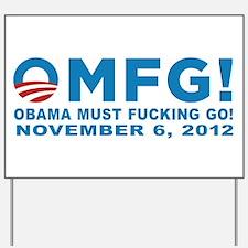 Anti Obama 2012 Yard Sign