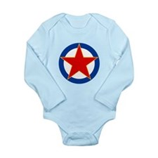 SFR Yugoslavia Roundel Long Sleeve Infant Bodysuit