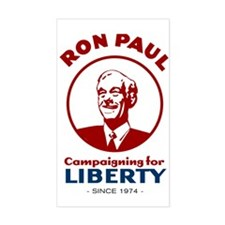 Campaigning for Liberty Sticker (Rectangle)