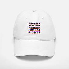 Pro Gay Rights Baseball Baseball Cap