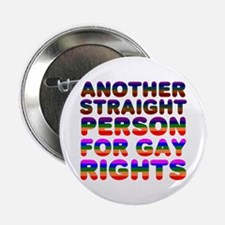 Pro Gay Rights Button