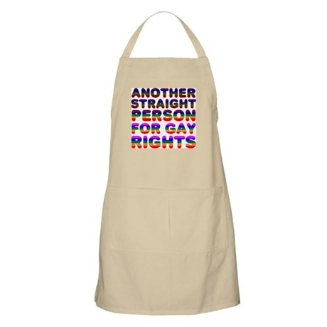 Pro Gay Rights BBQ Apron
