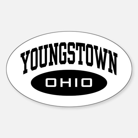 Youngstown Ohio Sticker (Oval)