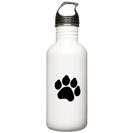 Paw Print Stainless Water Bottle 1.0L