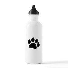Paw Print Water Bottle