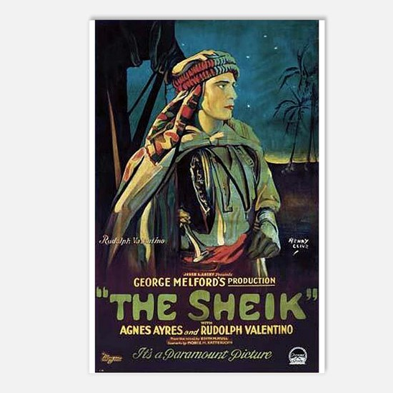 The Sheik (1) Postcards (Package of 8)