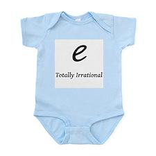 e - Totally Irrational Infant Bodysuit