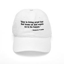Beer is Proof God Baseball Cap