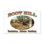 Boot Hill 22x14 Wall Peel