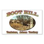 Boot Hill Sticker (Rectangle)