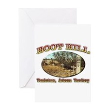 Boot Hill Greeting Card