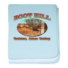 Boot Hill baby blanket