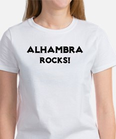 Alhambra Rocks! Women's T-Shirt
