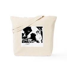 SWEET BOSTON TERRIER Tote Bag
