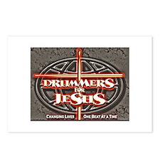 Unique Drummer Postcards (Package of 8)