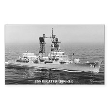USS DECATUR Decal