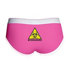 Biohazard Symbol Women's Boy Brief