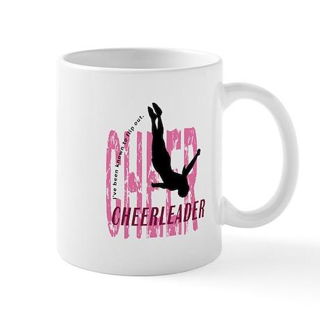 Flip Out Cheerleader Mug