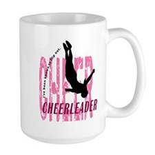 Flip Out Cheerleader Mug