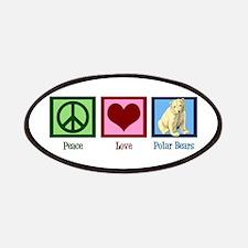 Peace Love Polar Bears Patches