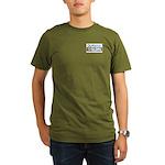 OutServe-SLDN Products Organic Men's T-Shirt (dar
