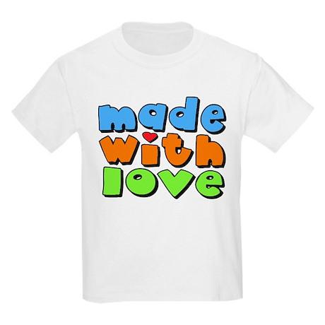Made With Love Kids Light T-Shirt