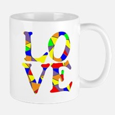 LOVE STAINED GLASS WINDOW Mug