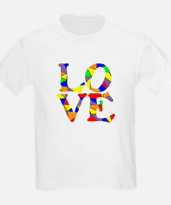 LOVE STAINED GLASS WINDOW T-Shirt